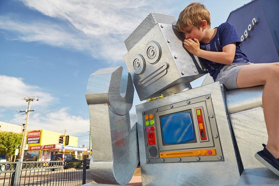 Robotopia Public Art