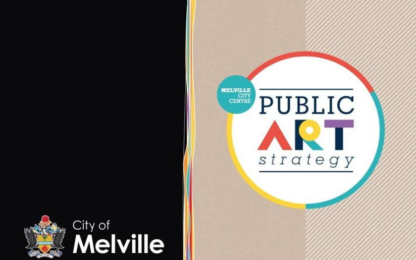 Melville Public Art Strategy Cover Image