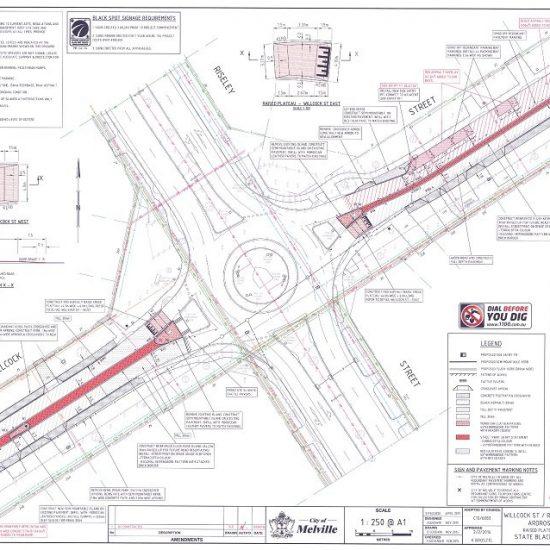 Riseley Street Roundabout Public Art Coordination
